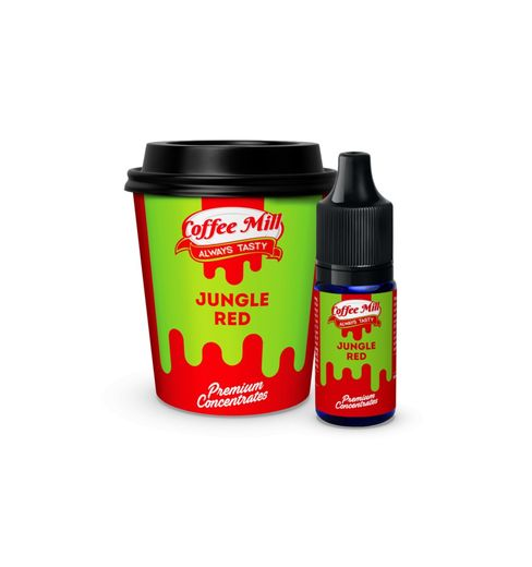 Coffee Mill: Jungle Red