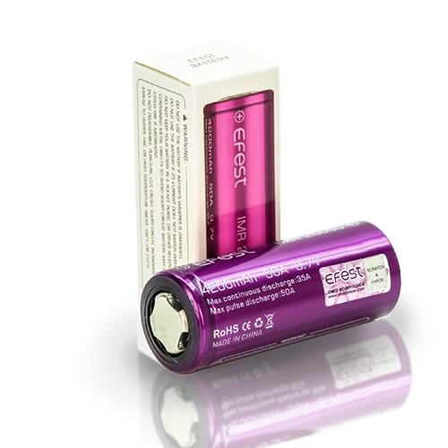 Efest 26650 4200MAH 50A Battery | Costa Vapor
