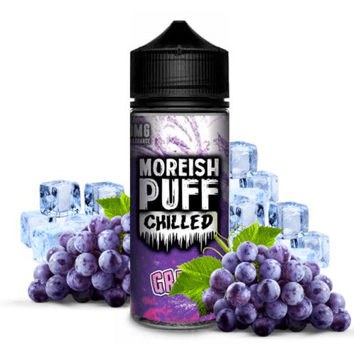 Moreish Puff: Chilled Grape