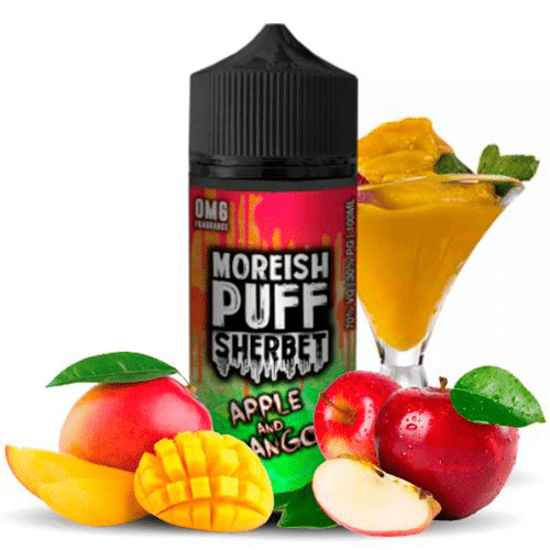Moreish Puff: Sherbet Apple & Mango