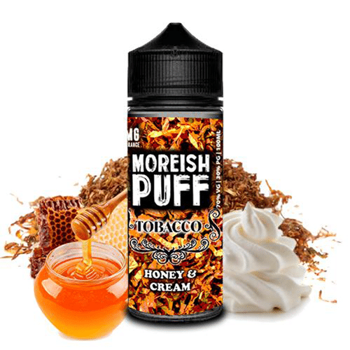 Moreish Puff: Tobacco Honey Cream