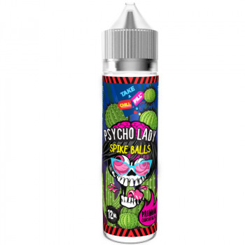 Chill Pill: Psycho Lady - Spike Balls 50ML SHORTFILL