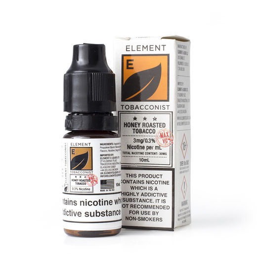 Elements Nicsalt: Honey Roasted Tobacco