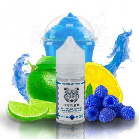 Crystal Bear: Blue Razz Lemon Lime Polar Slush