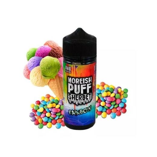 Moreish Puff: Sherpet Rainbow