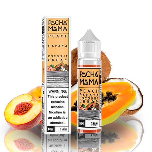 Pachamama: Peach Papaya Coconut Cream