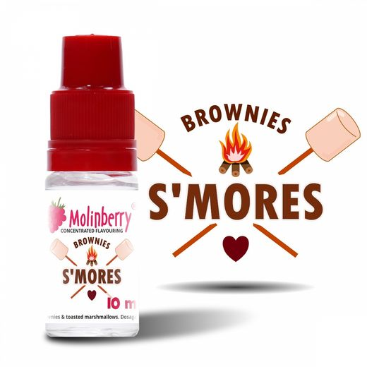 Molinberry: Smore's Marshmallow Brownies