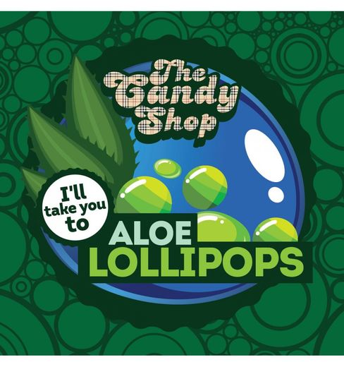 The Candy Shop: Aloe Lollipops